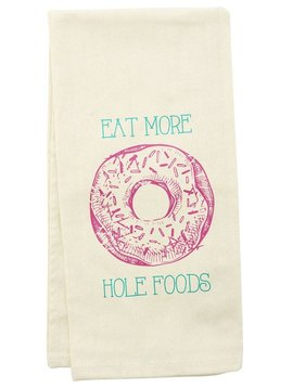 TEA TOWEL DONUT