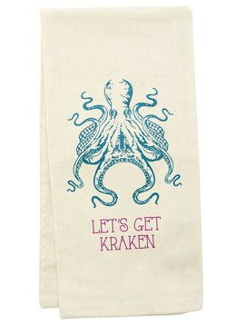TEA TOWEL OCTOPUS