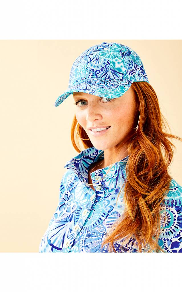 LILLY PULITZER  RUN AROUND HAT