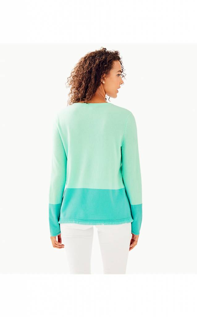 LILLY PULITZER  RICA CASHMERE SWEATER