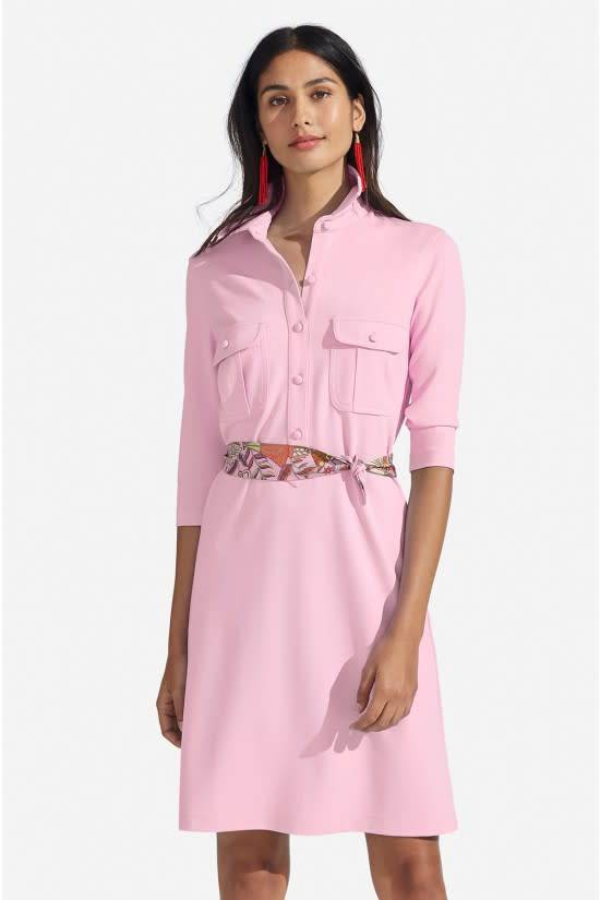PERSIFOR WINPENNY SOLID DRESS