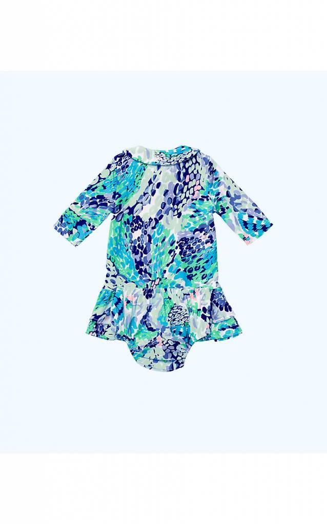 LILLY PULITZER AMELIA INFANT POLO DRESS