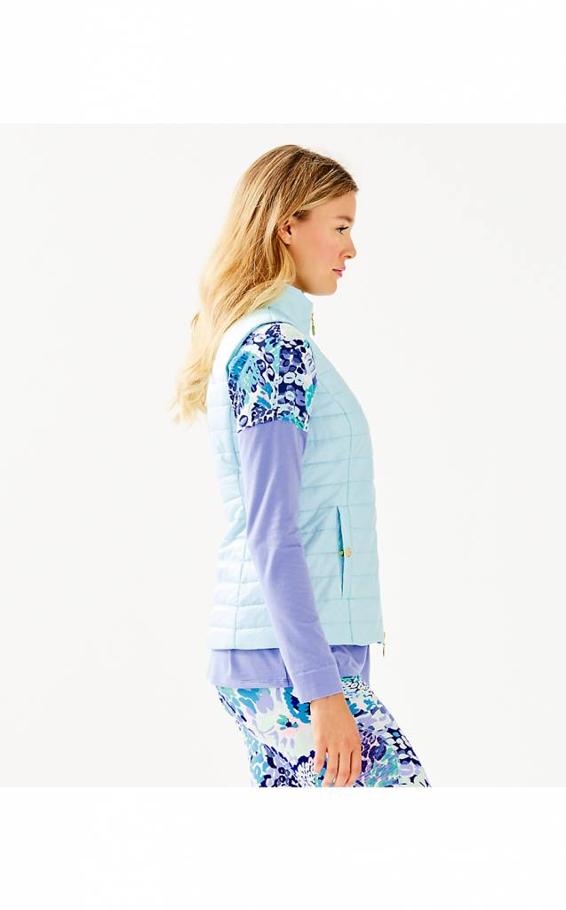 LILLY PULITZER ELYN PUFFER VEST