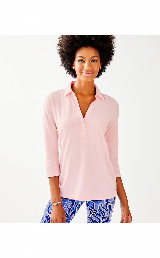LILLY PULITZER ANSLEY POLO