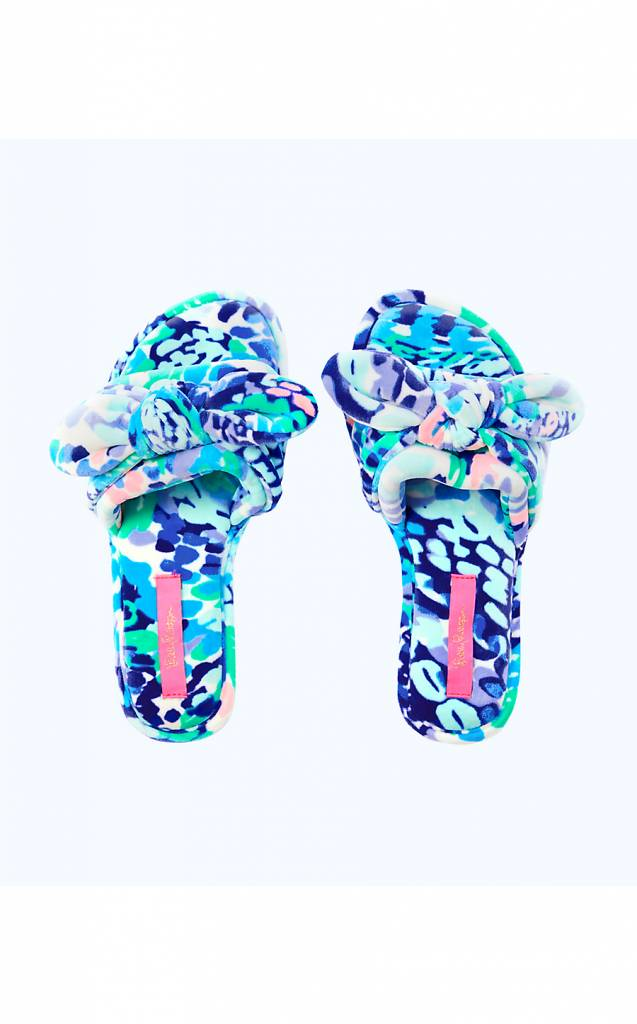 LILLY PULITZER  SHORELINE SLIPPER