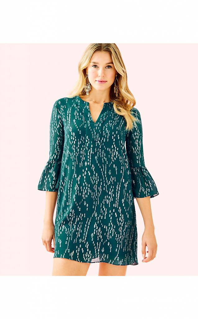 LILLY PULITZER ELENORA SILK DRESS