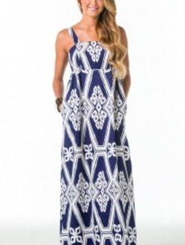 TORI RICHARD CAROLYN DRESS