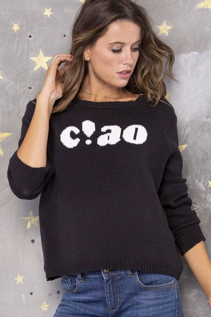 WOODEN SHIPS CIAO CREW SWEATER