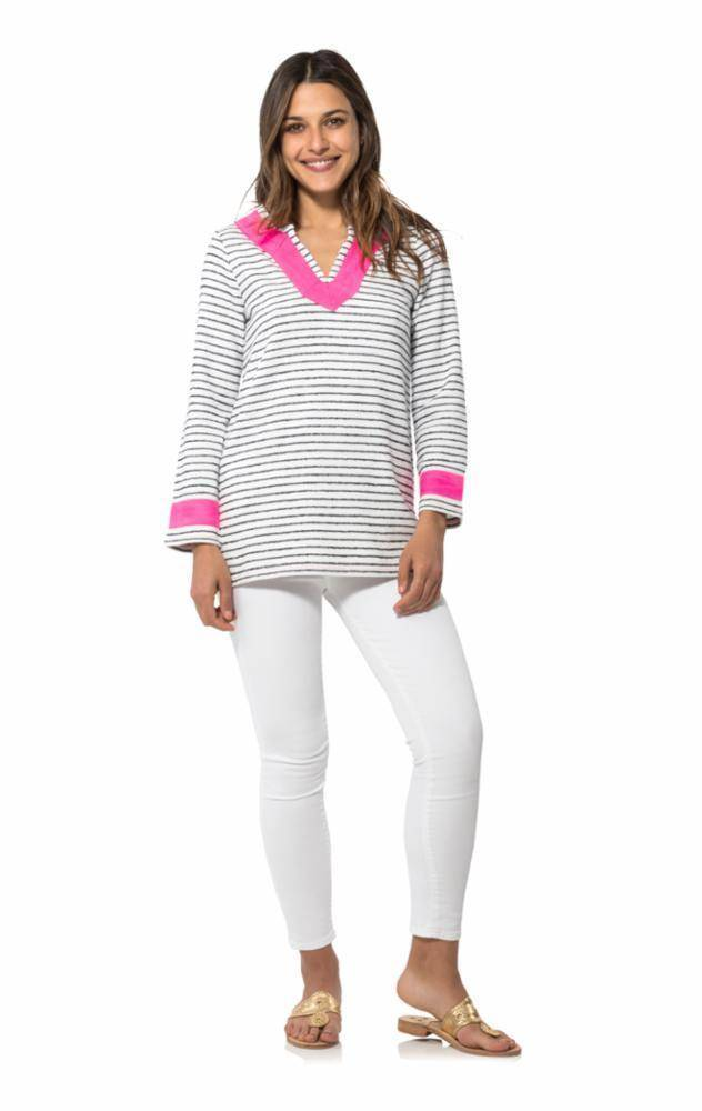 SAIL TO SABLE FERRY FRENCH TERRY TUNIC