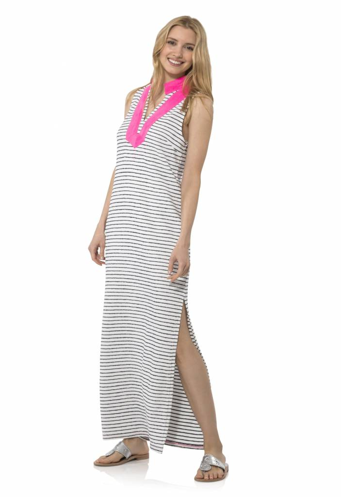 SAIL TO SABLE FRENCH TERRY SLEEVELESS CLASSIC MAXI