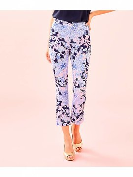 LILLY PULITZER KELLY HIGH RISE CROP FLARE