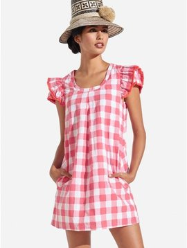 CLARE GINGHAM DRESS