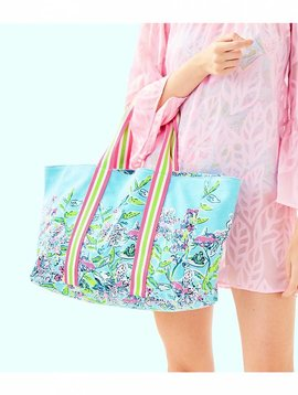 LILLY PULITZER LILLYS LAGOON TOTE