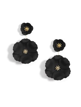 ZENZII FLOWER DROP  EARRING