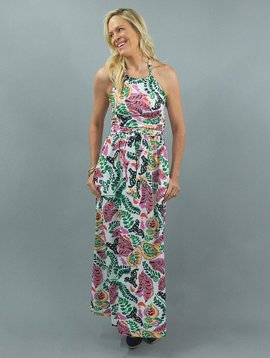 CK BRADLEY CORTINA LONG DRESS