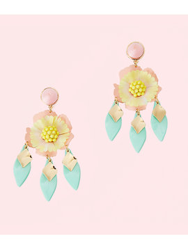 GARDEN GEM STATEMENT EARRING