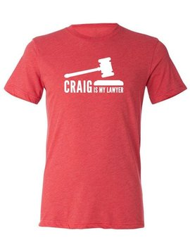 SHEP GEAR TEE CRAIG IS MY LAWYER MENS