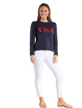 INTARSIA SWEATER USA