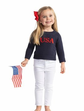 SAIL TO SABLE KIDS INTARSIA SWEATER USA