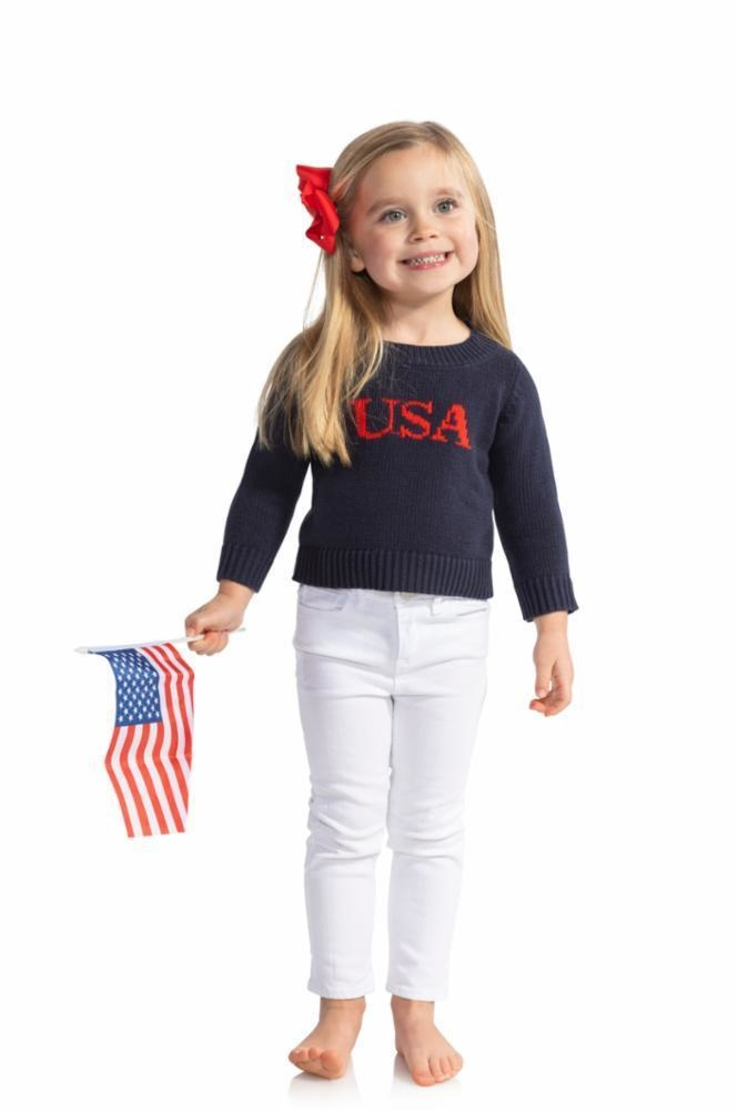 Kids Intarsia Sweater Usa