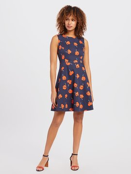 DRAPER JAMES POPPY A-LINE DRESS