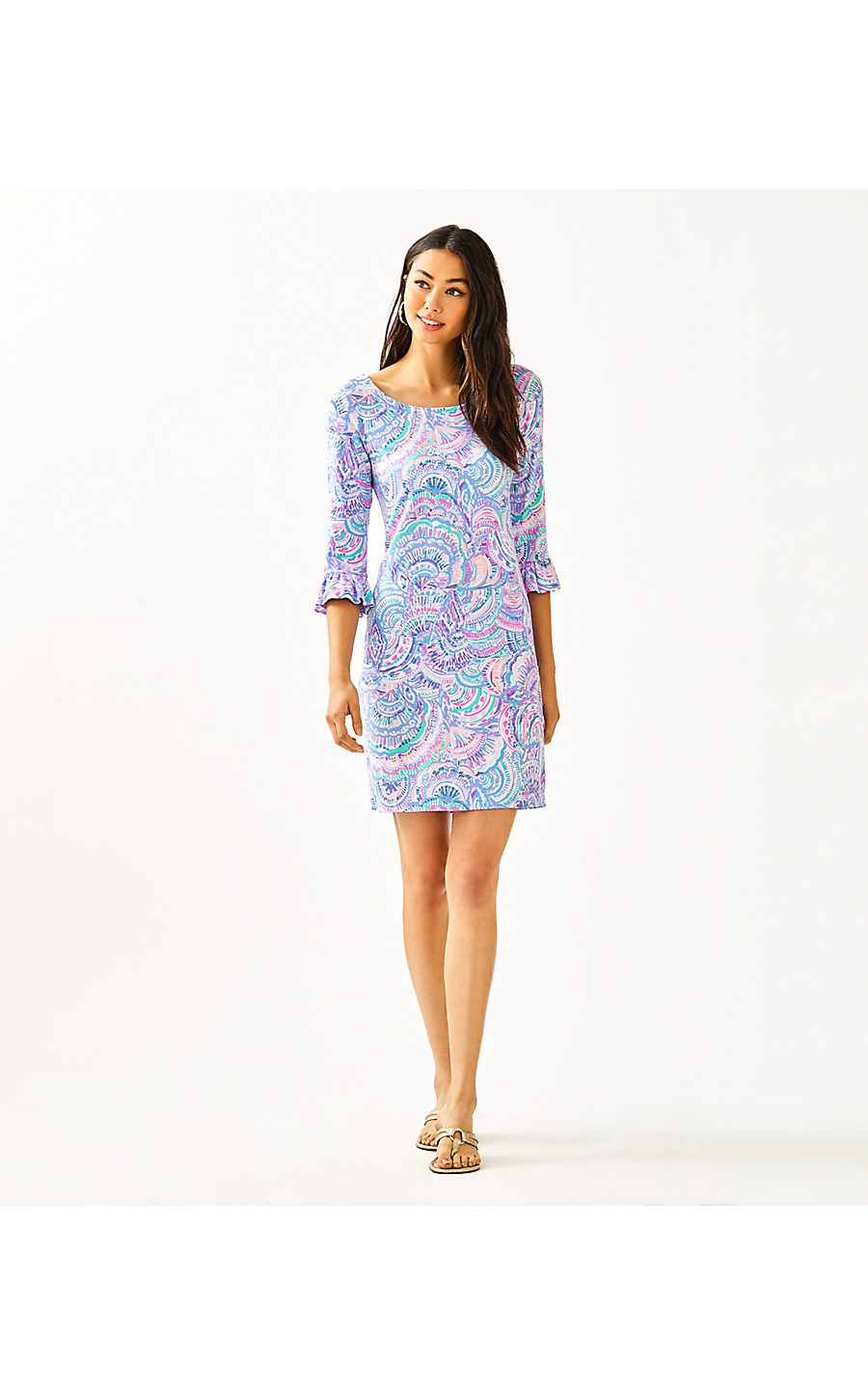 UPF 50+ SOPHIE RUFFLE DRESS