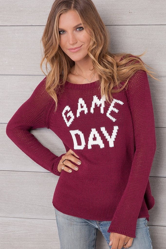 Game Day Raglan Sweater