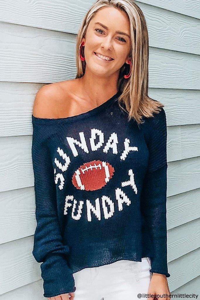 Sunday Funday Crew Sweater