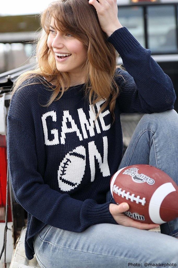 Game On Crew Sweater