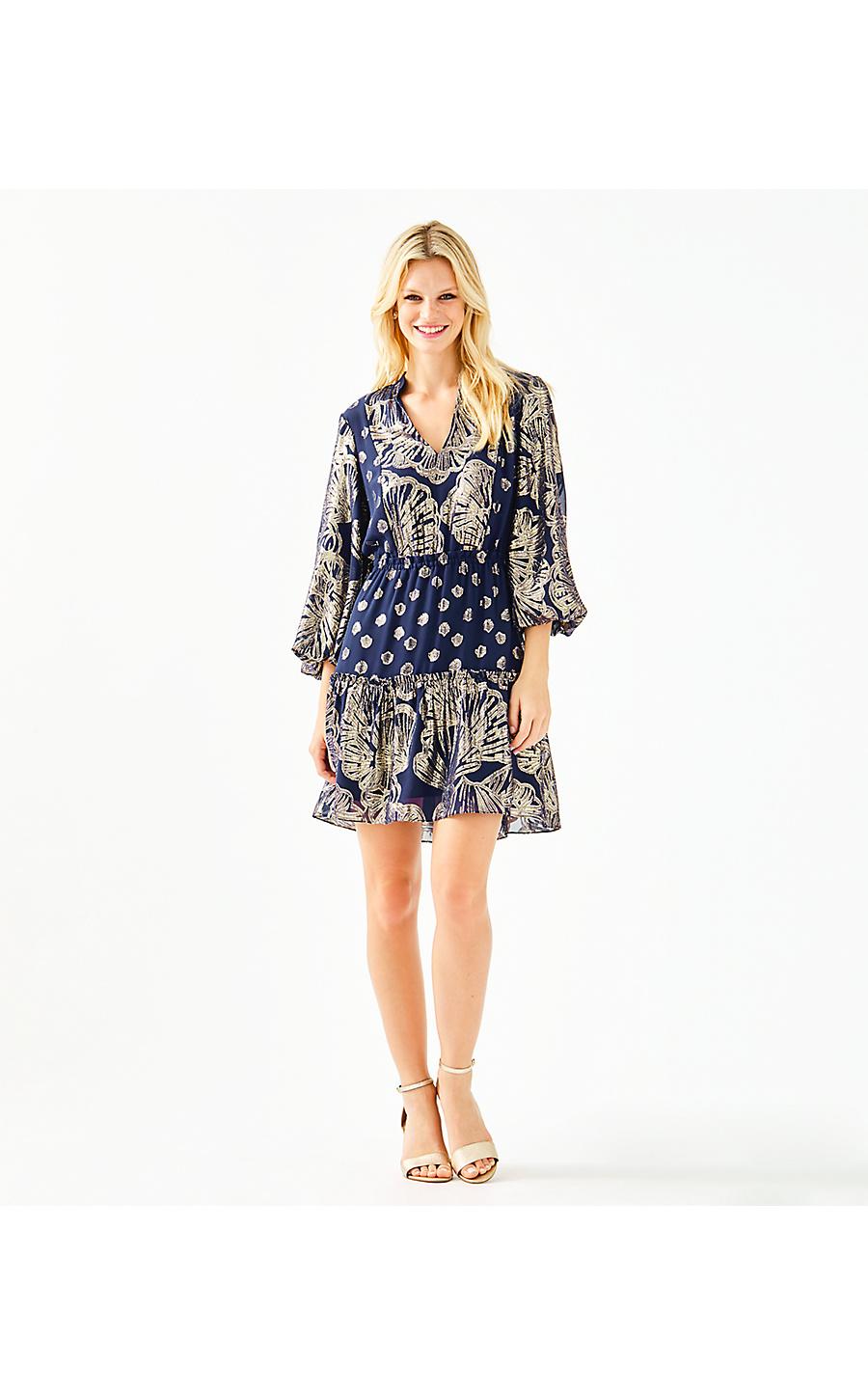 JOELLA SILK DRESS