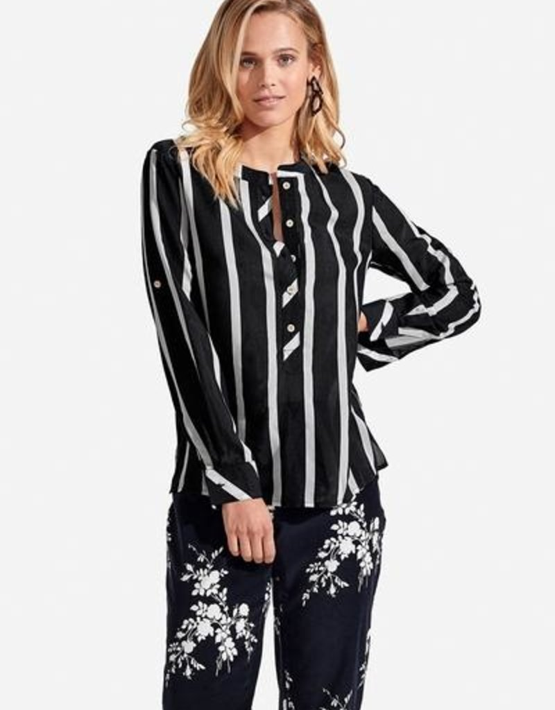 PERSIFOR freya top striped