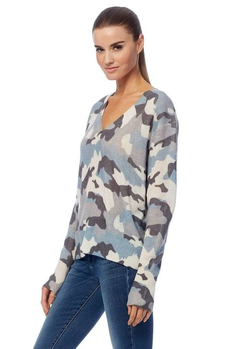 360 SWEATER Theo Camo Sweater