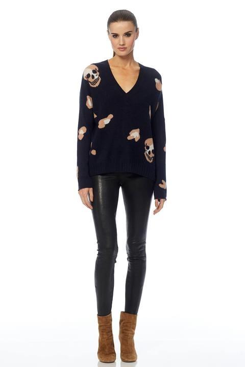 360 SWEATER Heidi Skull Sweater