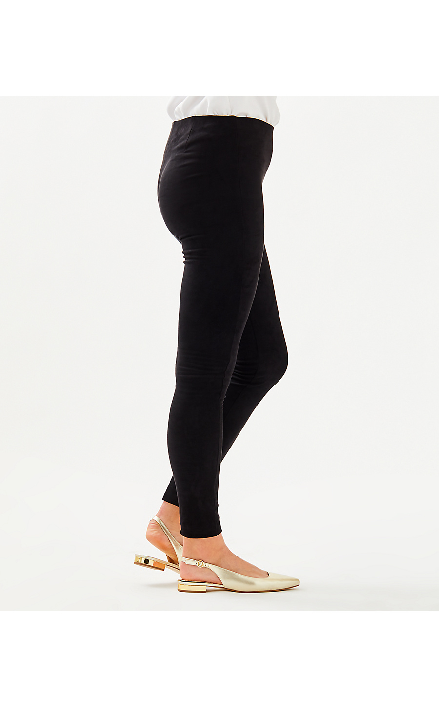Anika High Rise Ultra Suede Legging
