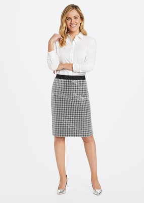 DRAPER JAMES Sequin Pencil Skirt