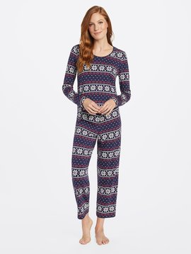 DRAPER JAMES Long Sleeve PJ's Set