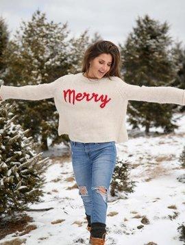 Merry crewneck