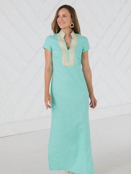 Short Sleeve Maxi Tunic Min