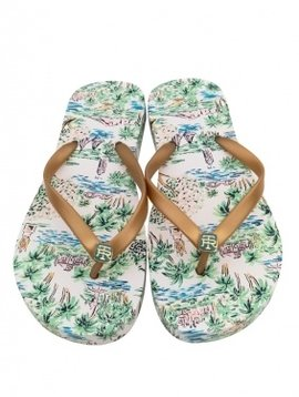 TORI RICHARD Printed Slipper