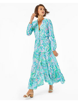 CORI STRETCH SHIRTDRESS