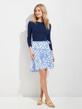 vineyard vines Bamboo Lattice Wrap Skirt