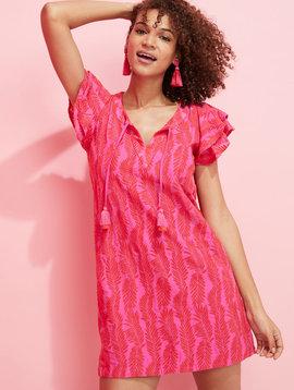 vineyard vines Embroidered Palm Vineyard Tunic Dress