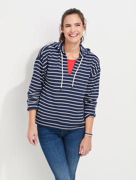 vineyard vines Dreamcloth Break Stripe Popover Hoodie