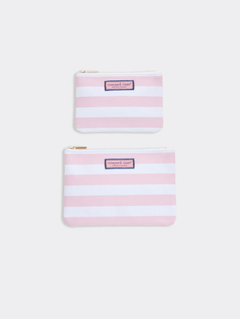 vineyard vines Cove Rugby Stripe 2-Piece Canvas Case