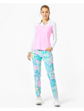 FRIDA LS SCALLOP POLO UPF