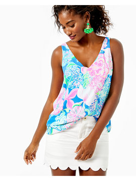 FLORIN SLEEVELESS V-NECK