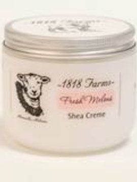 1818 FARMS Shea Creme 8fl oz Fresh Melon