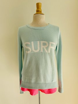 pink pineapple surf sweater