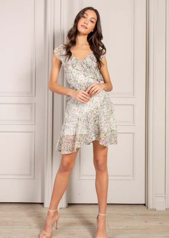 Aria Ruffle Dress