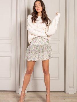 senlis Corrine Ruffle mini skirt